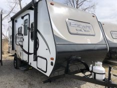 Outside view of the 2019 Spree Escape 191BH compact.
