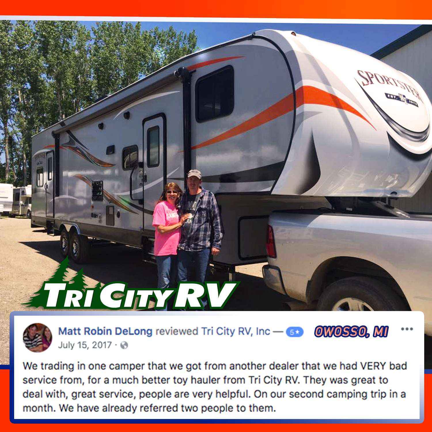 Welcome Home Tri City Rv Michigan S Trusted Rv Dealership