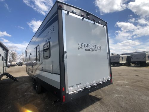 2020-Sportsmen-Sportster-280TH-toy-hauler-Exterior View