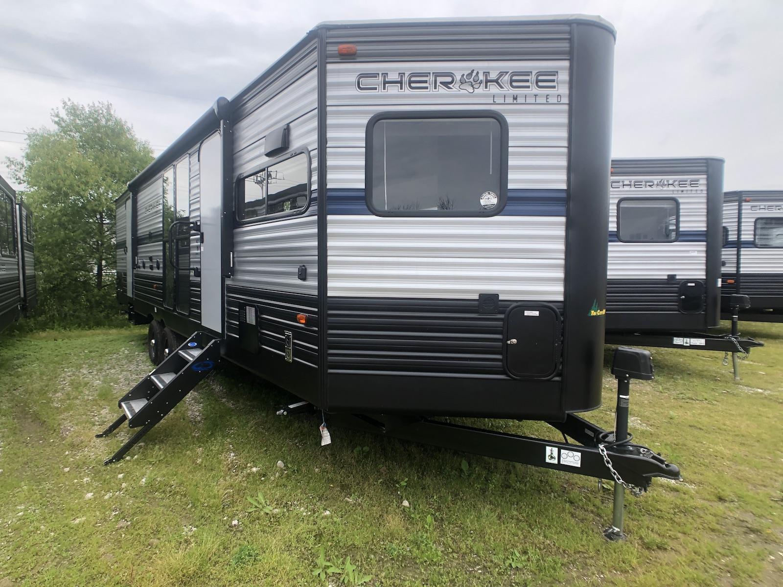 2019 Cherokee 274VFK Front Kitchen Travel Trailer - Tri ...